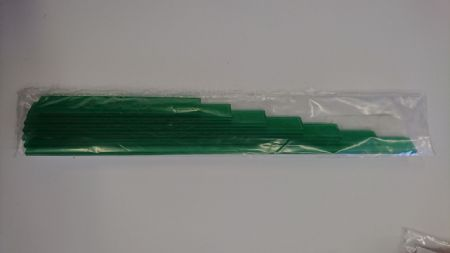 "Measuring set 4-10"" - Transparent green"